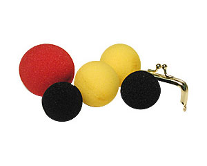 A.G.Sponge Ball Set By Gosh (DISCONTINUED)