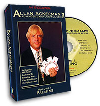 Advanced Card Control #1 by Alan Akerman DVD