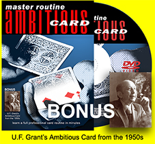 Ambitious Card DVD