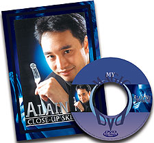 Alain Nu's Close-Up Sketches DVD