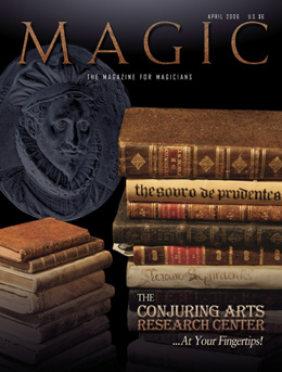 Magic Magazine April 2006