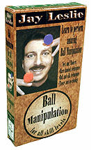 Ball Manipulation DVD by Jay Leslie