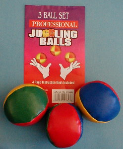 Juggling Balls (Soft, Large, Set of 3)