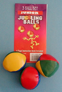 Juggling Balls (Soft, Small, Set of 3)