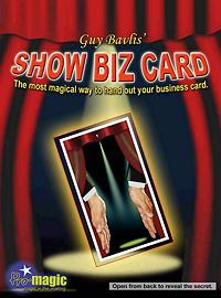 Showbiz Cards by Guy Bavli