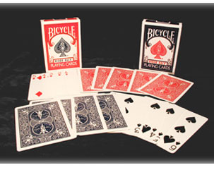 Bicycle-standard Back, POKER SIZE