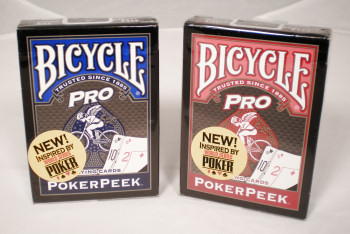 Bicycle PRO PokerPeek Playing Cards with ProCut Edges