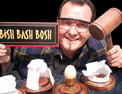 Bish Bash Bosh by Colin Rose