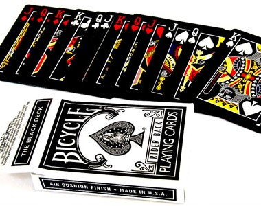 Black Deck Bicycle-Poker (DISCONTINUED)