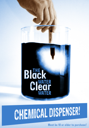 Black Water Clear Water Chemical Dispenser