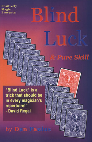 Blind Luck & Pure Skill DVD