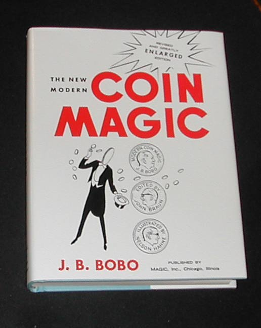 Bobo's Modern Coin Magic-Hardbound