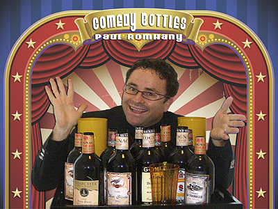 Comedy Bottles by Paul Romhany