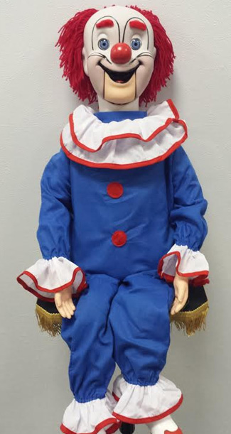Bozo The Clown Vent Doll Super Deluxe