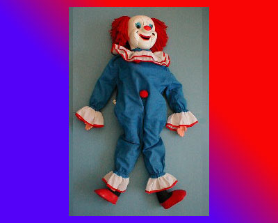 Bozo The Clown Vent Doll