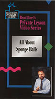 All About Sponge Balls by Brad Burt