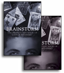 Brainstorm -The Creative Card Magic of John Guastaferro Volume 1