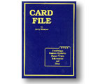 Card File by Mentzer