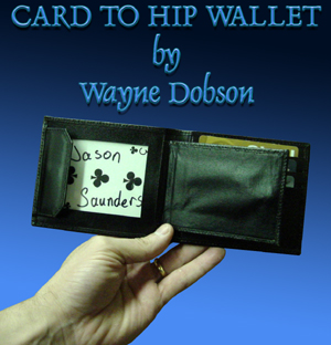 Card to Hip Wallet by Wayne Dobson