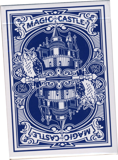 Magic Castle Deck -Blue