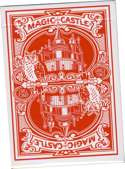 Magic Castle Deck -Red