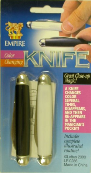 Color Change Knives
