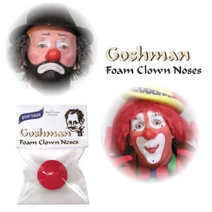 Clown Nose Packaged by Gosh