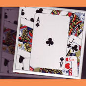 Playing Card Tile Coaster
