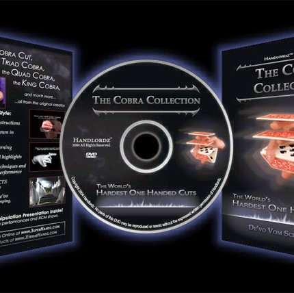 Cobra Collection DVD by De'vo