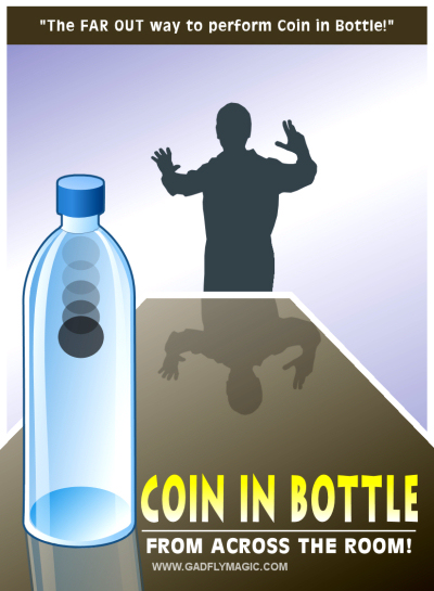 Coin in Bottle from Across the Room