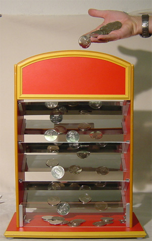 Coin Ladder and DVD