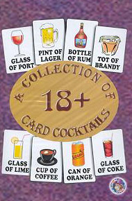 18+ Collection of card cocktails