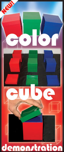 Kozuch's Color Cube Demonstration