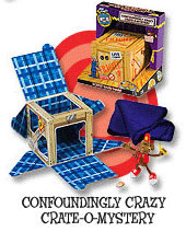 Crazy Crate-O-Mystery by Mac King