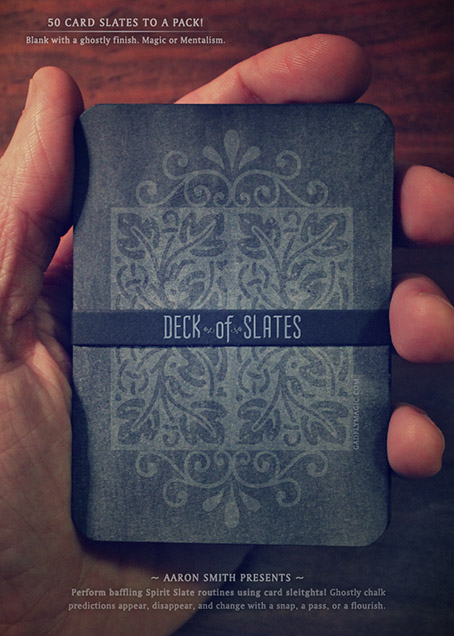 Deck of Slates (Svengali) by Aaron Smith