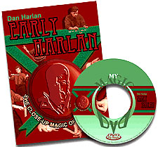Early Harlan Close-Up Magic DVD