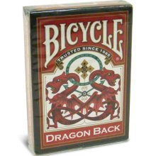 Dragon Bicycle Back Playing Cards