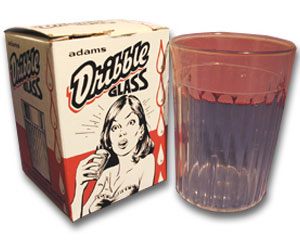 Dribble Glass-Plastic