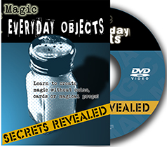 Secrets Revealed: Everyday Object DVD