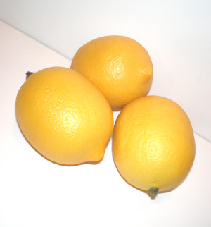 Fake Fruit (Lemon or Lime)