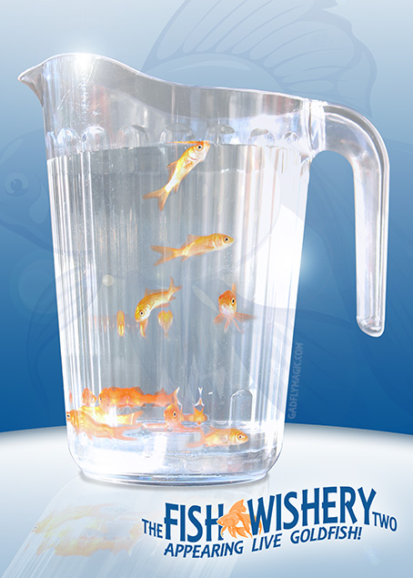Fish Wishery Two (Appearing Live Goldfish)
