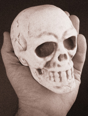 Floating Skull Invisible Thread Prop FREE with orders over $100*DISCONTINUED