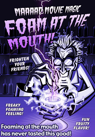 Mad Movie Magic Foam at the Mouth (2 Pack)