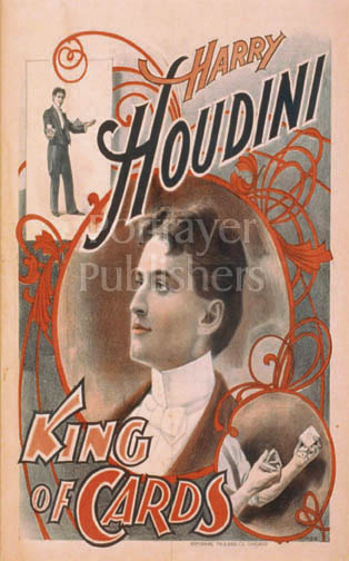 Magic Greeting Cards-Houdini: King