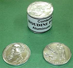 Houdini Palming Coin