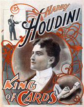 Houdini King of Cards (Magic Prints)