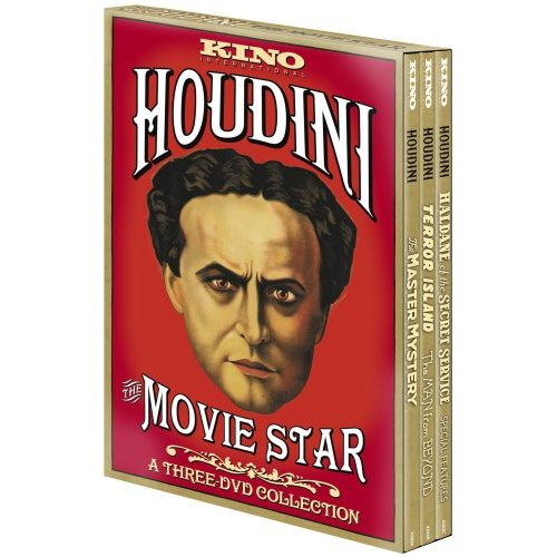 Houdini The Movie Star (Three Disc Set)