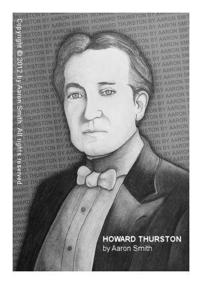 SOLD! Howard Thurston by Aaron Smith (Graphite on Paper)