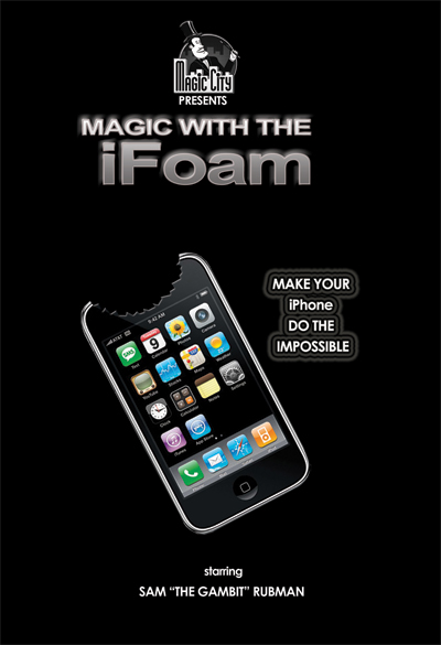 iFoam, The Ultimate iPhone Gimmick