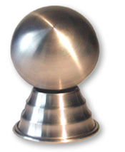 Zombie Ball (Ickle) - Silver, Satin